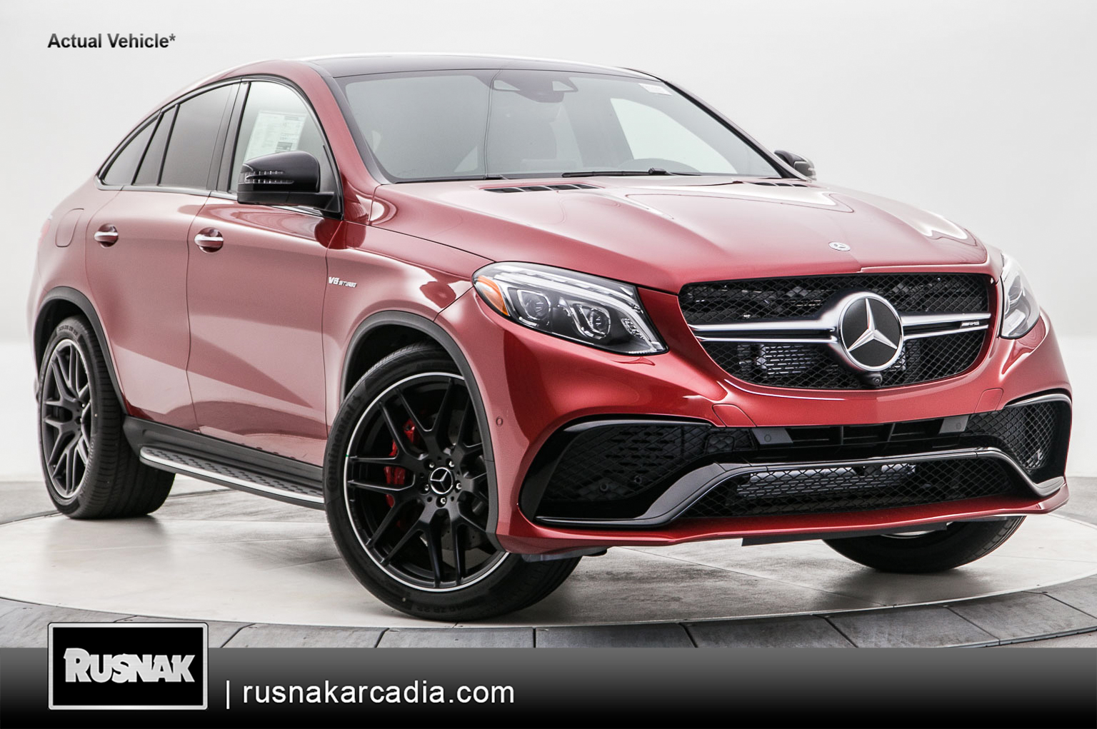 New 2018 Mercedes Benz Gle Amg 63 S Coupe In Arcadia 581524