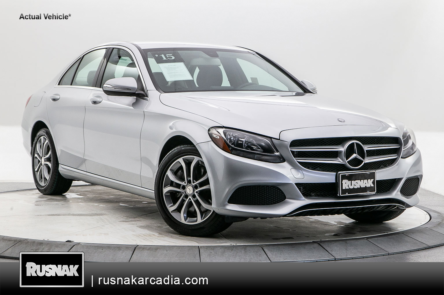 Certified Pre-Owned 2015 Mercedes-Benz C-Class