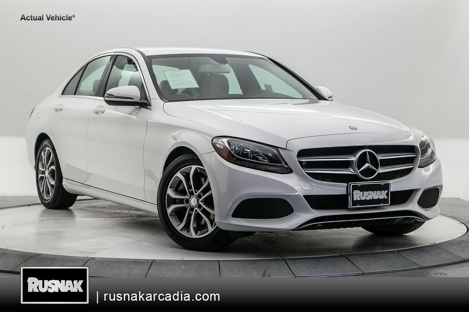Certified Pre-Owned 2016 Mercedes-Benz C-Class