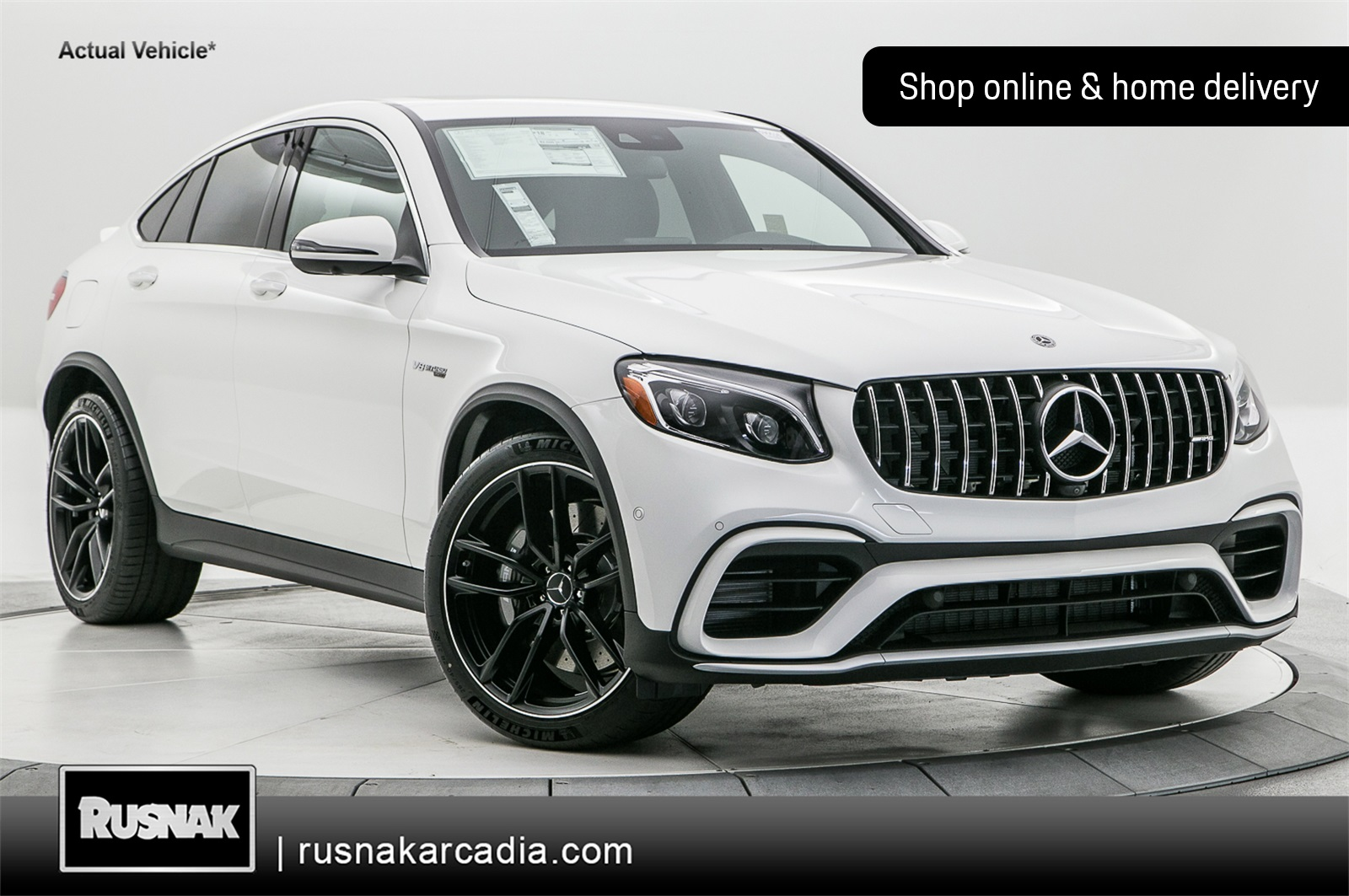 New 2019 Mercedes-Benz GLC 63 AMG®