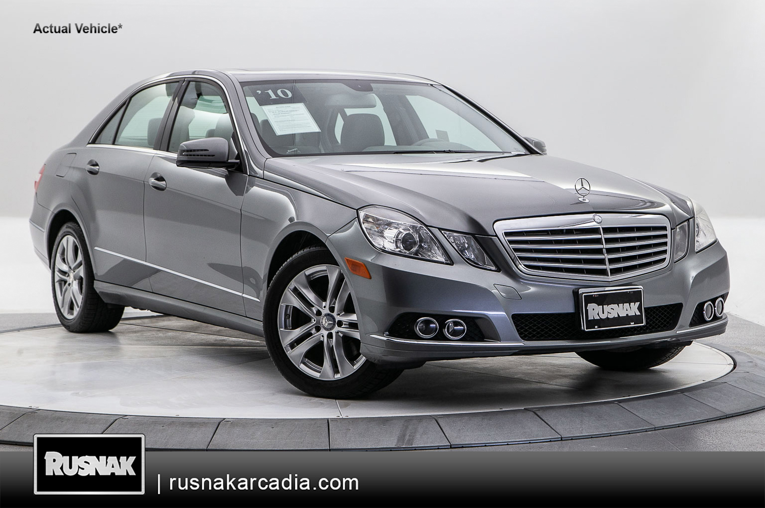 Pre-Owned 2010 Mercedes-Benz E-Class