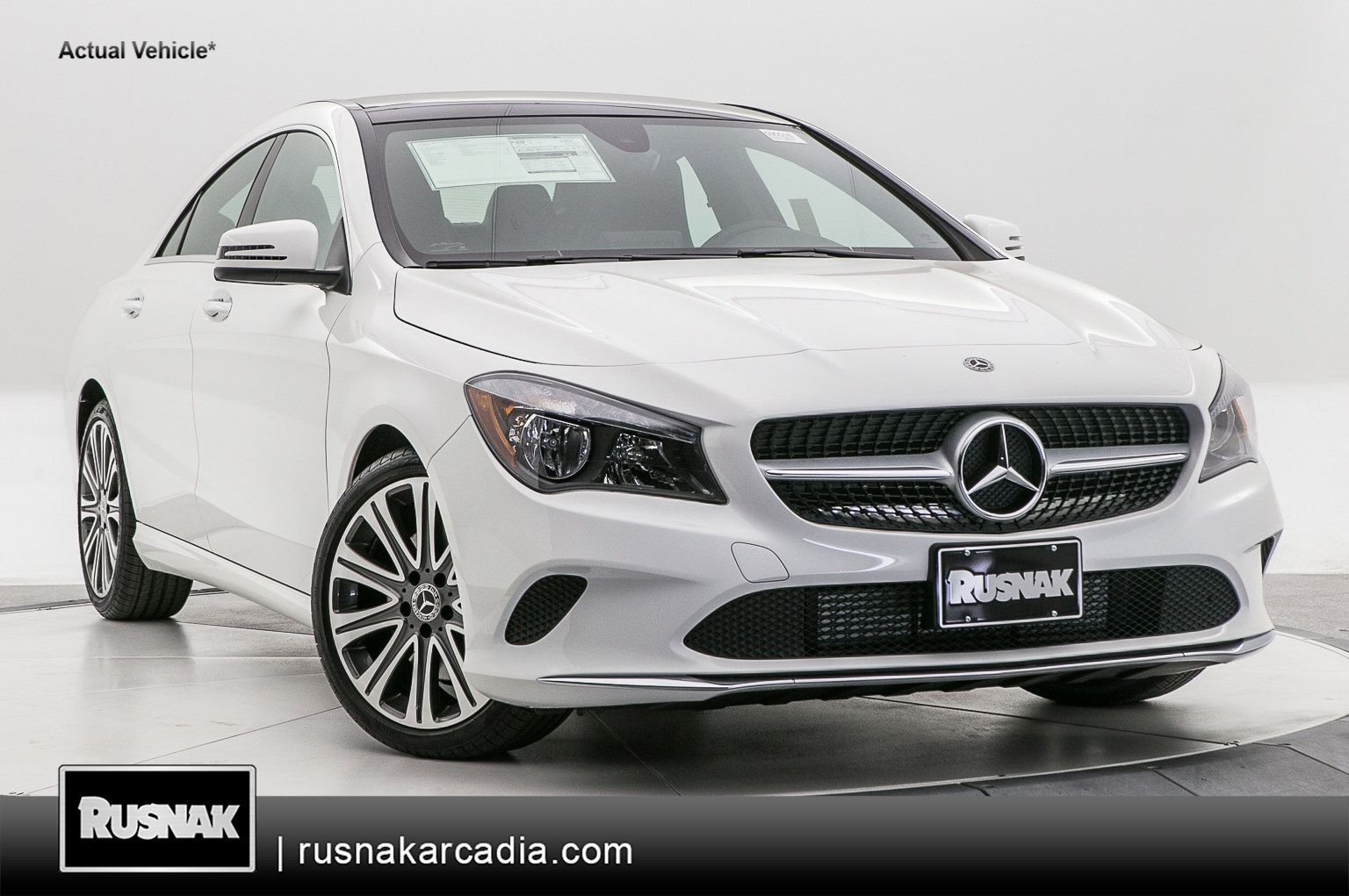 New 2019 Mercedes-Benz CLA 250 FWD Coupe