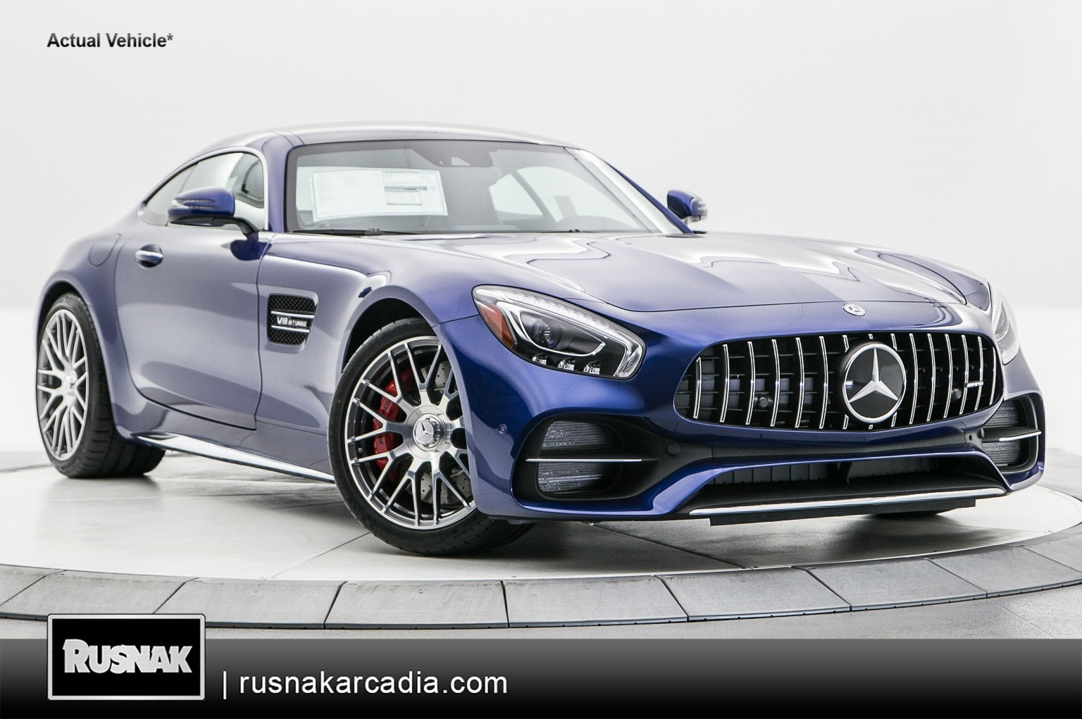 New 2019 Mercedes-Benz AMG® GT C With Navigation