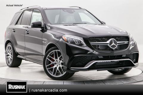 New 2018 Mercedes-Benz GLE GLE 63 S AMG®