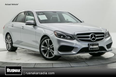Certified Pre-Owned 2016 Mercedes-Benz E-Class